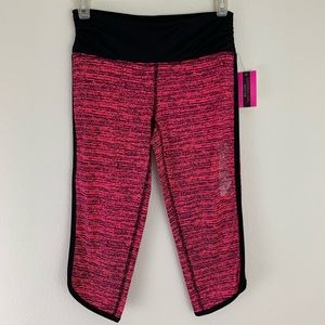 Material Girl Active Cropped Workout Leggings Pink